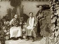 תאוס ברנרד עם רתינג רינפוצ'ה, בכיר בהנהגה הטיבטית
