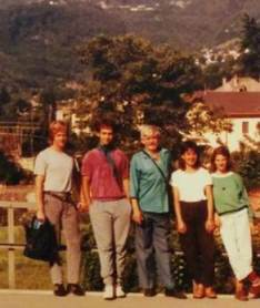 עם אברמל'ה ותלמידים נוספים
