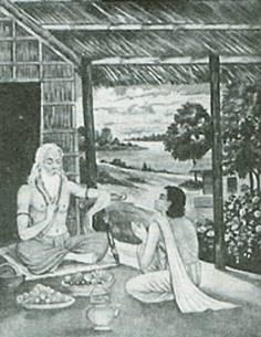 מסורת היוגה הועברה במשך אלפי שנים ממורה לתלמיד