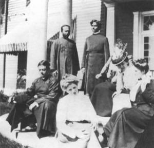 סוואמי ויווקאננדה באחוזת רידג'לי בניו יורק, ספטמבר 1899