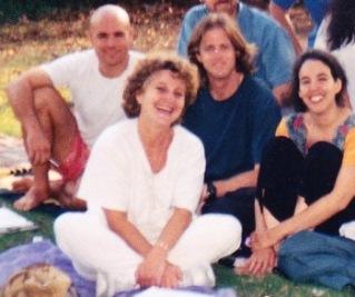 בפארק ברמת החייל, 1995