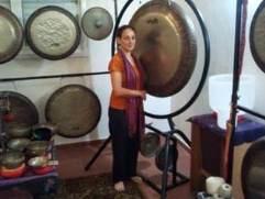 ביקור עם תלמידים בסטודיו של נועה בלאס 2012