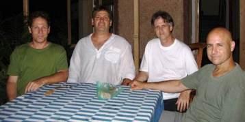 גורופורנימה 2006, עם רונן כץ, איתי קינן ואיל דונגי