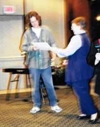 טקס קבלת הדוקטורט בקנדה, מאי 1999